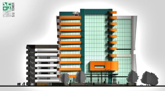 SU Towers_Elevation 1