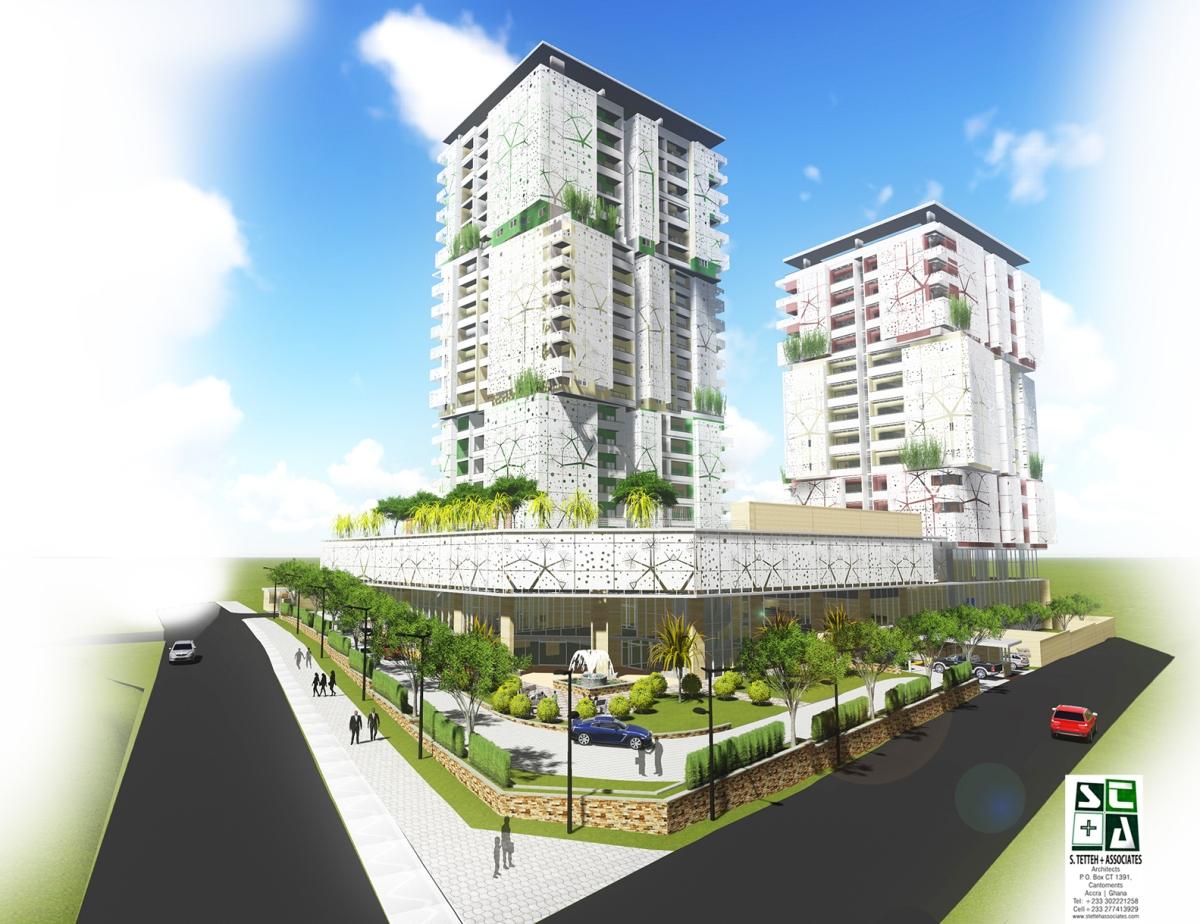 Apartment Design Competition sta named winner of south legon apartment building design